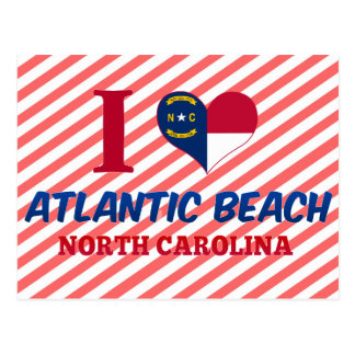 Atlantic Beach, North Carolina Postcard
