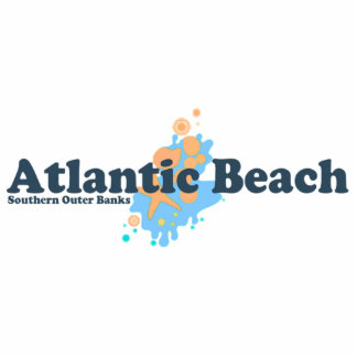 Atlantic Beach. Photo Cutout