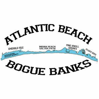 Atlantic Beach. Photo Cut Out