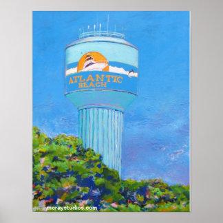 Atlantic Beach (watertower) Posters