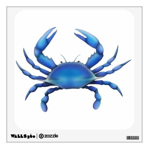 Atlantic Blue Crab Wall Decal
