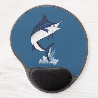 Atlantic Blue Marlin Gel Mouse Pad