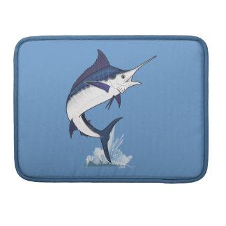 Atlantic Blue Marlin MacBook Pro Sleeve