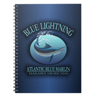 Atlantic Blue Marlin Notebook