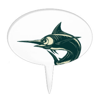 Marlin Cake Toppers Zazzle