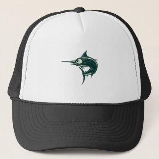 Atlantic Blue Marlin Scraperboard Trucker Hat