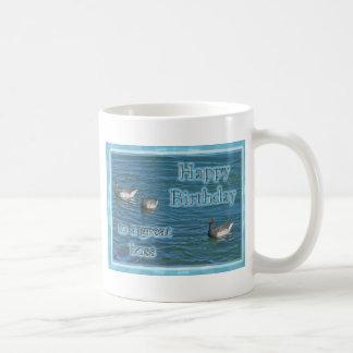 Atlantic Brant Geese Boss Birthday Coffee Mug