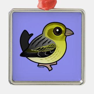 Atlantic Canary Metal Ornament