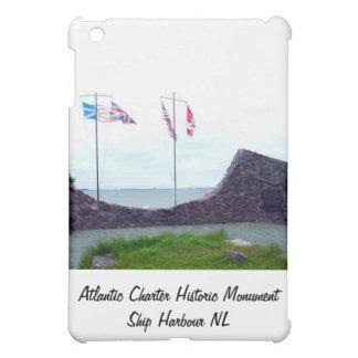Atlantic Charter Historic Monument Ship Harbour NL Case For The iPad Mini
