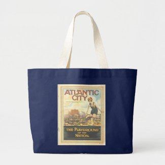 Atlantic City 1920s Image Tote Bag