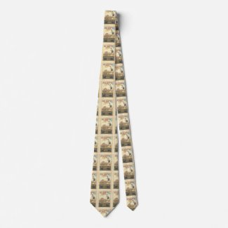 Atlantic City 1920s Vintage Flapper Tie