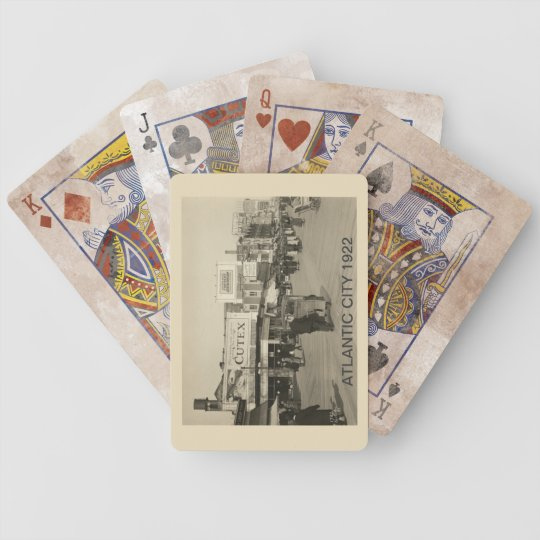 Atlantic City 1922 Bicycle Playing Cards