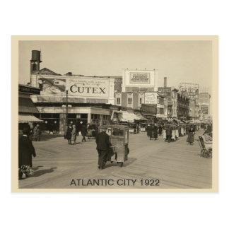Atlantic City 1922 Postcard