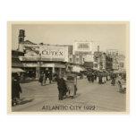 Atlantic City 1922 Tarjeta Postal