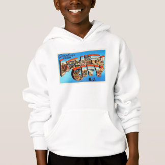 Atlantic City 1 New Jersey NJ Vintage Travel - Hoodie