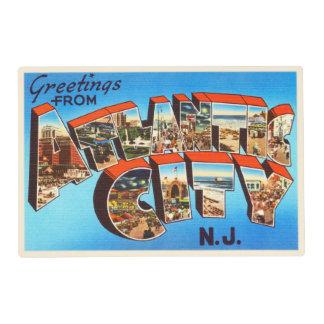 Atlantic City 1 New Jersey NJ Vintage Travel - Placemat