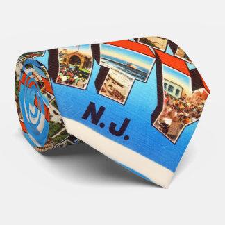 Atlantic City 1 viaje del vintage de New Jersey NJ Corbata Personalizada