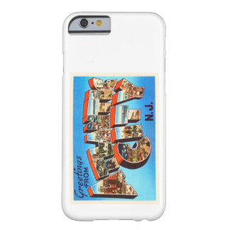 Atlantic City 1 viaje del vintage de New Jersey NJ Funda Barely There iPhone 6