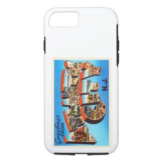 Atlantic City 1 viaje del vintage de New Jersey NJ Funda iPhone 7