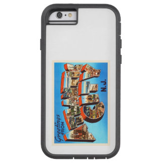 Atlantic City 1 viaje del vintage de New Jersey NJ Funda Tough Xtreme iPhone 6