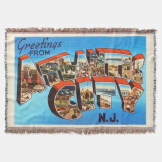 Atlantic City 1 viaje del vintage de New Jersey NJ Manta