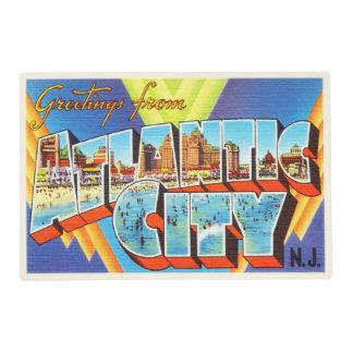 Atlantic City 2 New Jersey NJ Vintage Travel - Placemat