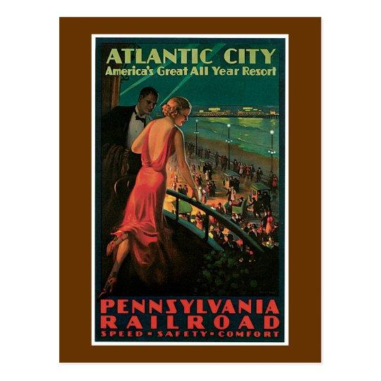 Atlantic City ~ All Year Resort Postcard