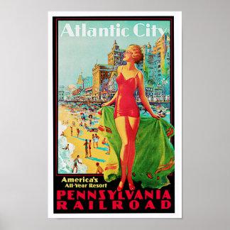Atlantic City ~ America's All Year Playground Poster
