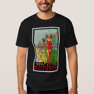 Atlantic City ~ America's All Year Playground T Shirt
