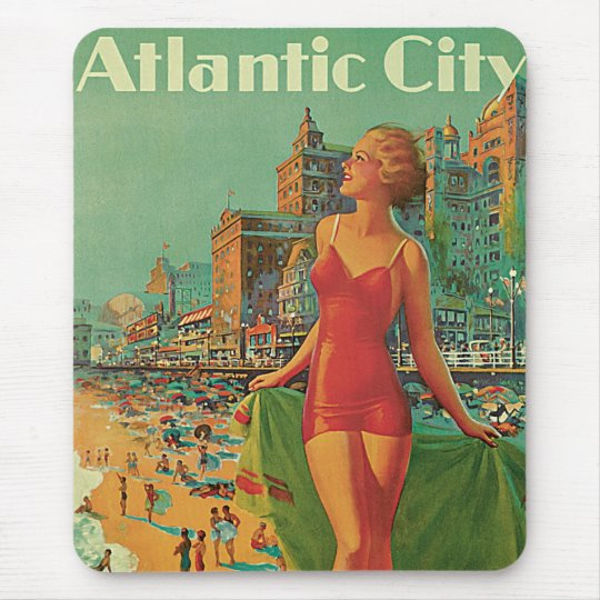 Atlantic City - America's All Year Resort Mouse Pad