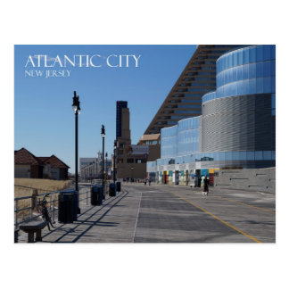 Atlantic City and the Boardwalk Postcard