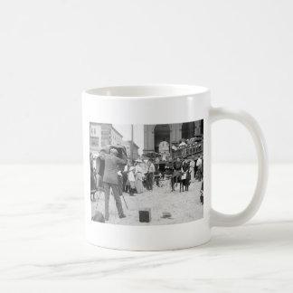 Atlantic City Beach, 1890s Coffee Mug