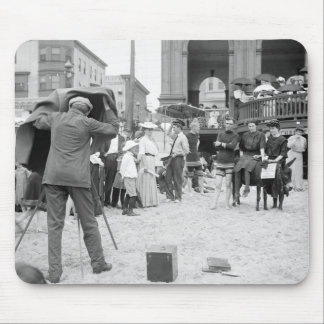 Atlantic City Beach, 1890s Mouse Pad