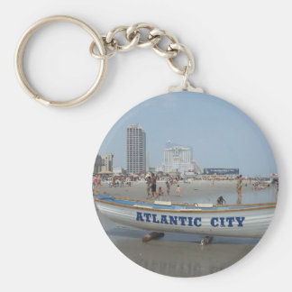 Atlantic City Beach Keychain