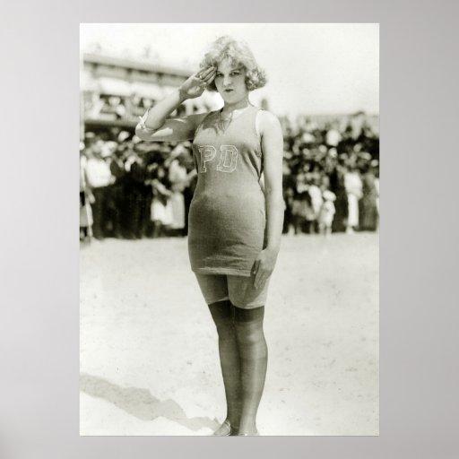 Atlantic City Beauty, early 1900s Posters