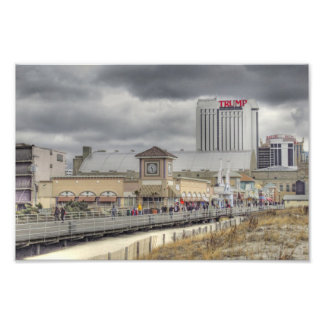 Atlantic City Boardwalk Photo Print