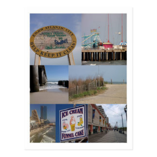Atlantic City Boardwalk Photos Postcard