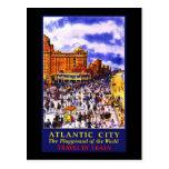 Atlantic City el patio del mundo Postales