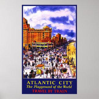 Atlantic City el patio del mundo Póster