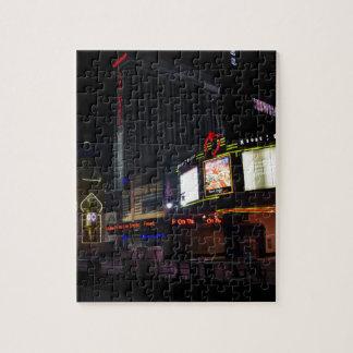 Atlantic City en la noche Rompecabeza Con Fotos