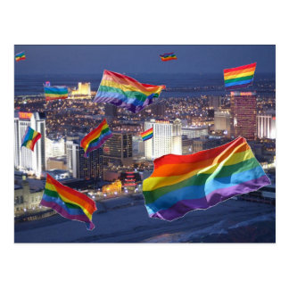 Atlantic City Flying Pride Postcard
