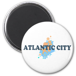 Atlantic City. Iman Para Frigorífico