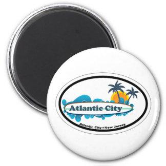 Atlantic City. Imanes De Nevera