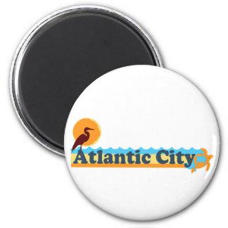 Atlantic City. Imán Para Frigorífico