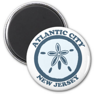 Atlantic City. Imán Para Frigorifico