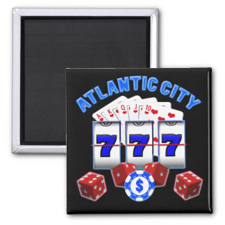 ATLANTIC CITY REFRIGERATOR MAGNET