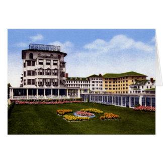 Atlantic City New Jersey Brighton Hotel Greeting Card