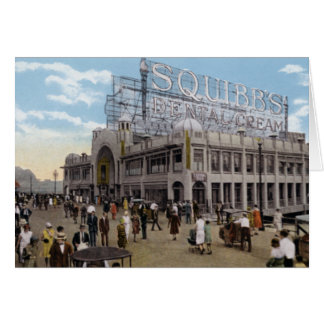 Atlantic City New Jersey Central Pier Greeting Card