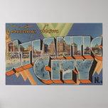 Atlantic City, New Jersey (escena del paseo maríti Poster