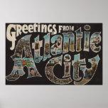 Atlantic City, New Jersey - escenas grandes 3 de l Posters
